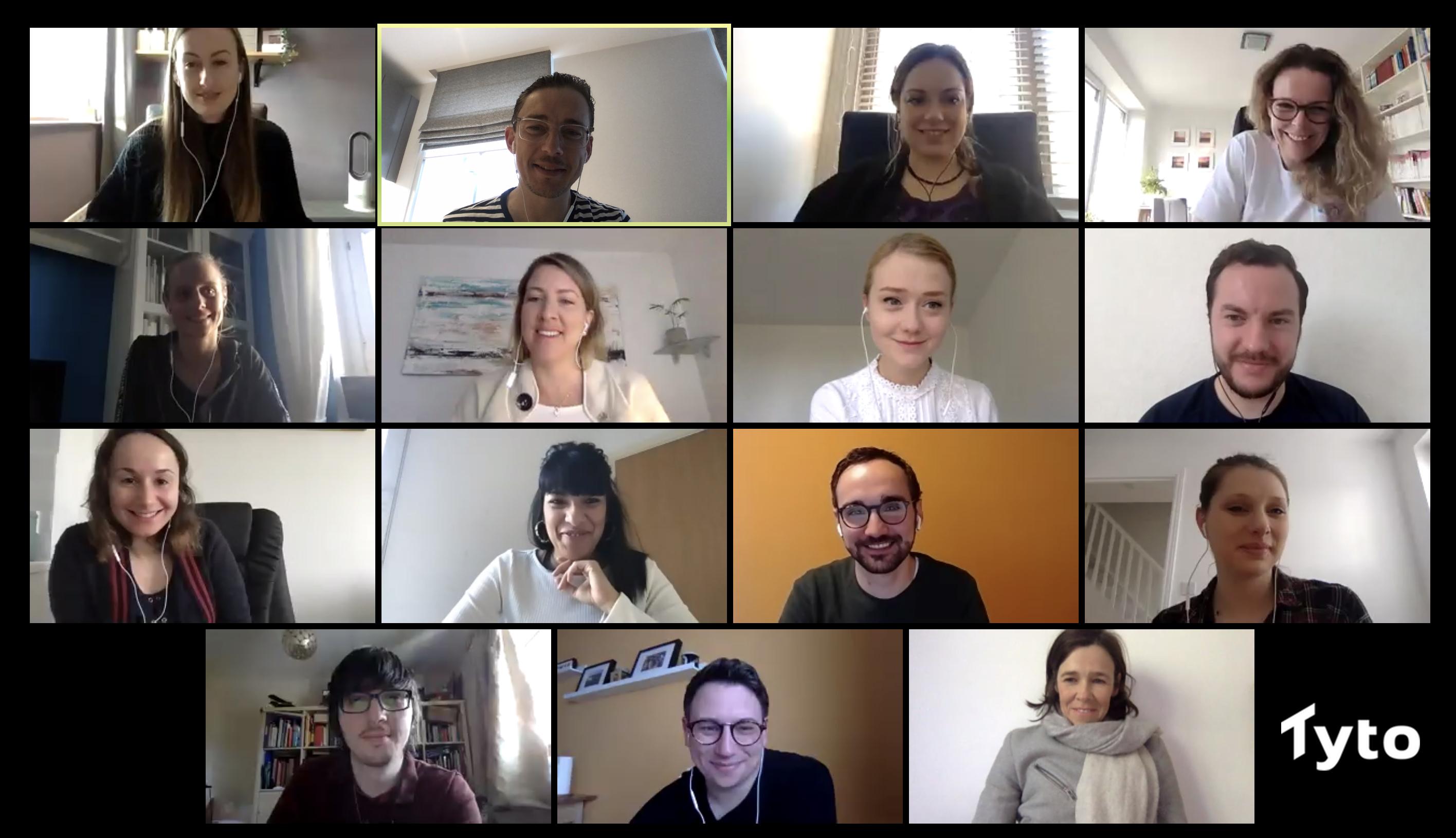 Tyto Team Remote Working