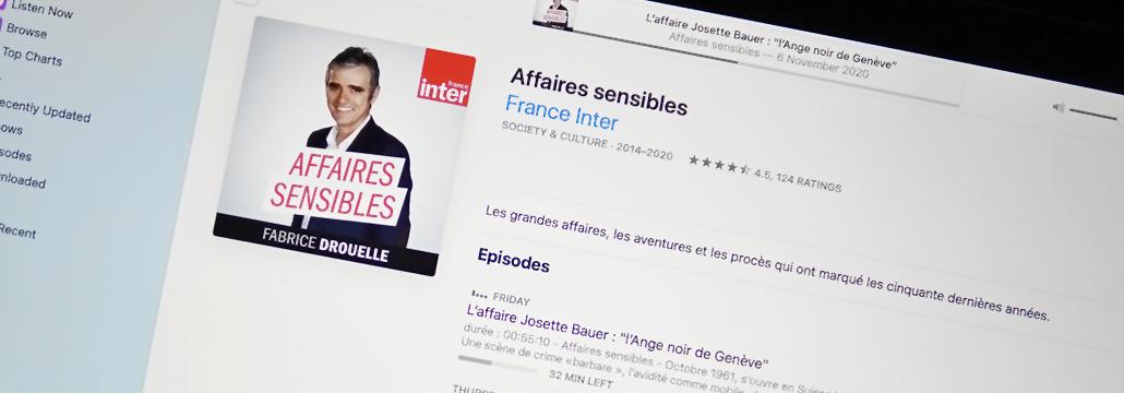 Affaires Sensibles Podcast